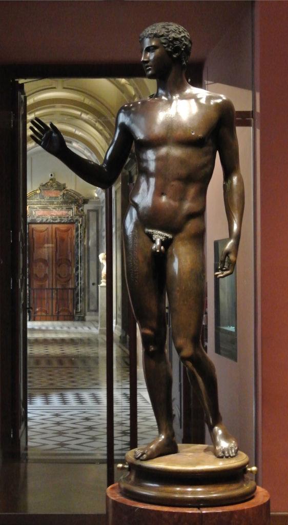 Jüngling vom Magdalensberg im Kunsthistorischen Museum in Wien