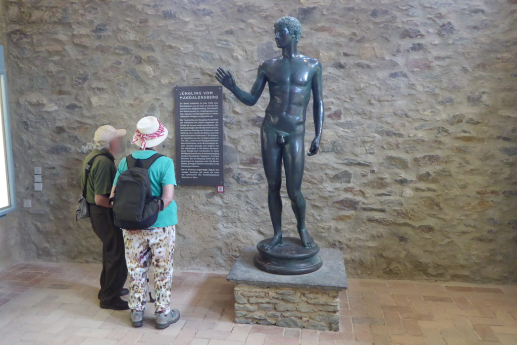 Kopie des Jüngling vom Magdalensberg im Museum am Magdalensberg