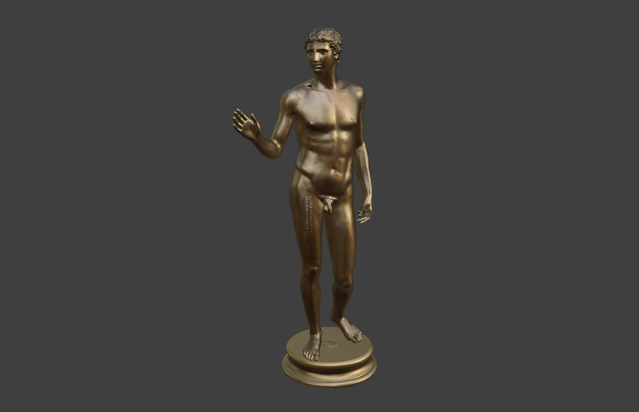Jüngling vom Magdalensberg, 3D Modell