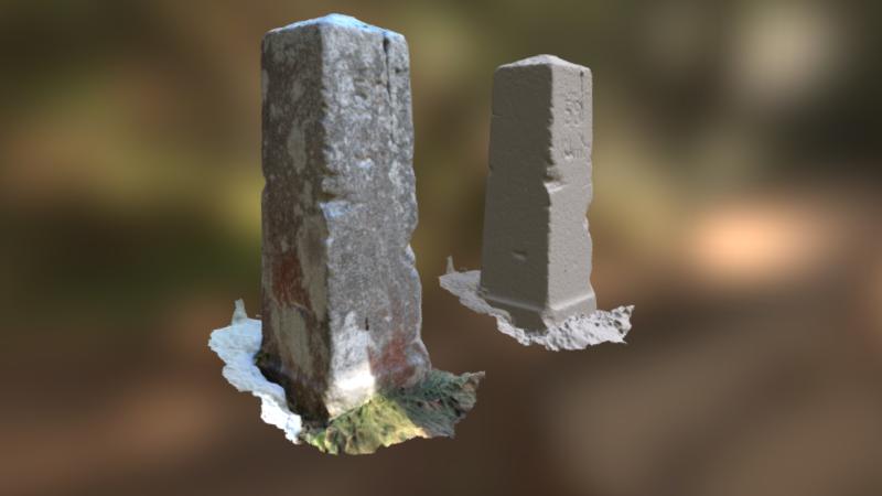 Milestone 59, 3D model thumbnail