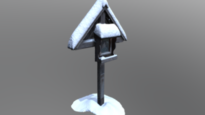 Wayside Shrine St. Anne, 3D model thumbnail