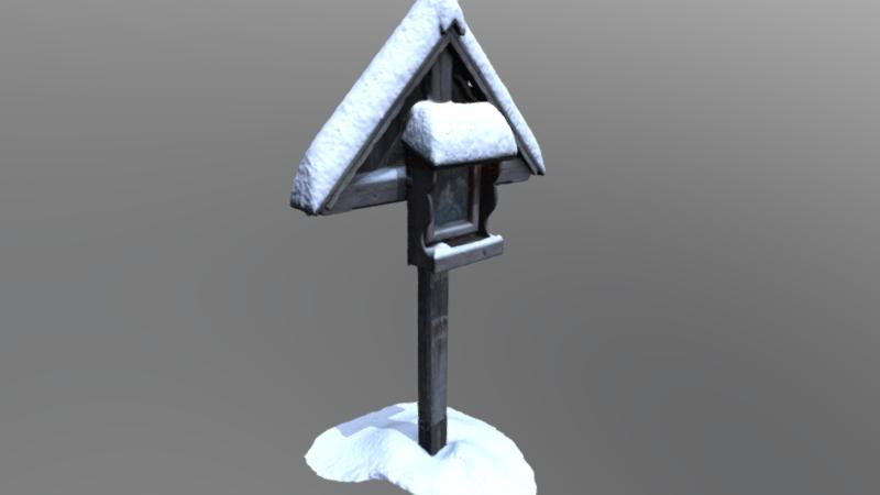 Wayside Shrine St. Anne, 3D model thumbnail