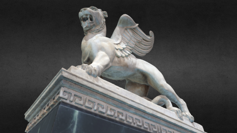 Lion of St. Mark, 3D model thumbnail